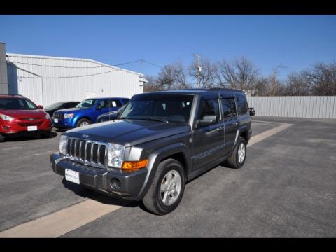Pre-Owned 2007 Jeep Commander Four Wheel Drive Sport 4dr SUV 4WD
